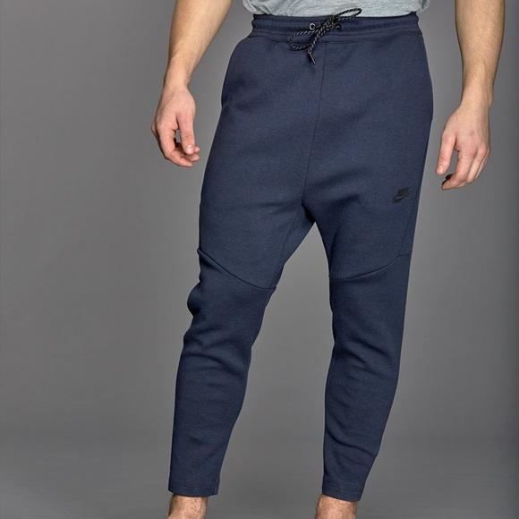 Nike Pants Nike Tech Fleece Cropped Sweat Pants Mens Xl Poshmark